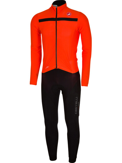 Castelli Sanremo 2 Thermosuit Men orange/black